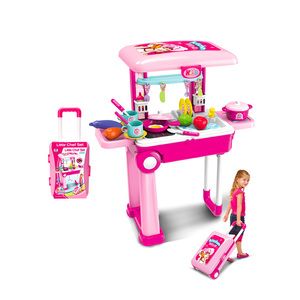 Lovely Baby Kitchen Set With Luggage 008-921A 1pc