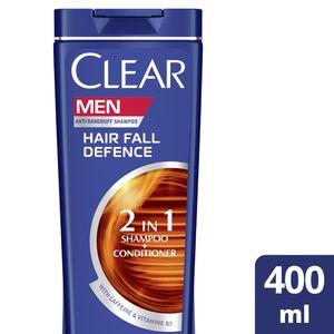 Clear Men's AntiDandruff Shampoo Hair Fall Defence 400ml