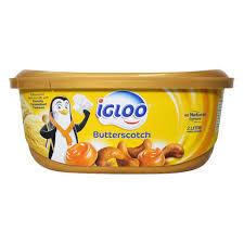 Igloo Butter Scotch Ice Cream 2L