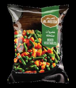 Al Areesh Mixed Vegetables 3x450g