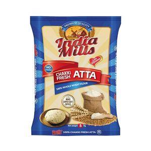 India Mills Chakki Fresh Atta 5kg