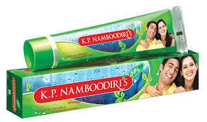 K.P Namboodiris Toothpaste Gel 125g