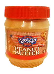 American Harvest Peanut Butter Creamy 340g