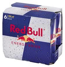Red Bull Energy Drink 6x250ml