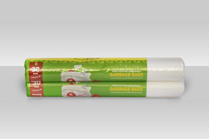 Hd Garbage Roll White 10 Gallons 2x10 Gallon