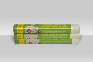 Hd Garbage Roll White 5 Gallons 3x5 Gallon