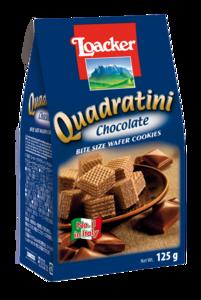 Loacker Quadartini Chocolate Wafers 125g