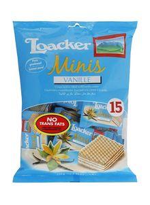 Loacker Minis Vanilla 125g