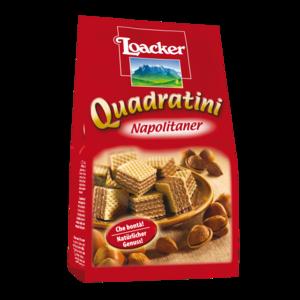 Loacker Quadartini Napolitaner 125g