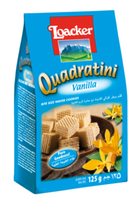Loacker Quadartini Vanilla 125g