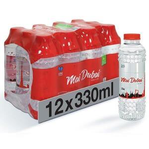 Mai Dubai Bottled Drinking Water 12x330ml