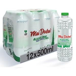Mai Dubai Alkaline Zero Sodium 12x500ml