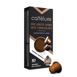 Caffeluxe Decadent Dark Hot Chocolate 10s 75g