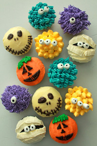 Halloween Cup Cakes Assorted 1 pack