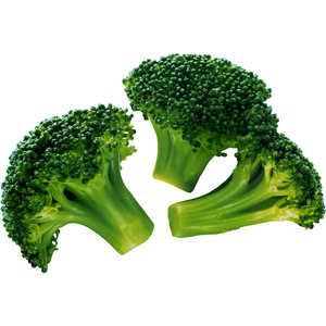 Organic Broccoli Florets Kenya 250g pkt