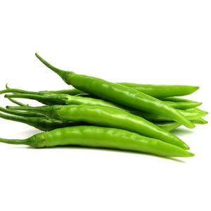 Organic Chilli Green Hot 250g pkt
