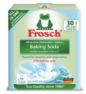 Frosch All In One Baking Soda Dishwasher Tablets 30s
