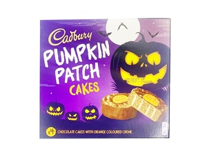 Cadbury Cake Pumpkin Patch 4s