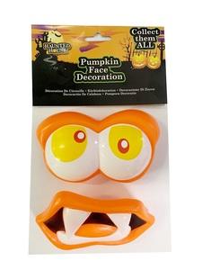 Halloween Pumpkin Face 1pc