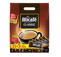 Alicafe Classic 3 In 1 Pouch 40x20g