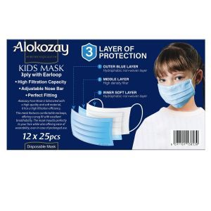 Alokozay Disposable Face Mask Kids 25s