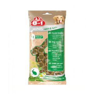 8In1 Minis Rabbit & Herbs 100g