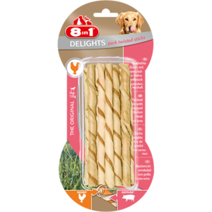 8In1 Delights Pork Twisted 60g