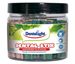 "Dentalight 2.5"" Dental Stix Assorted Flavour 220g"