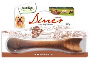 "Dentalight 8"" Nutri Diner Tasty Beef Flavour 220g"