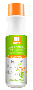 Nootie Cucumber Melon Shampoo Soothing Aloe & Oatmeal 473ml