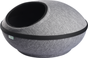 Nutrapet Space Shuttle Pod Bed Grey 2kg