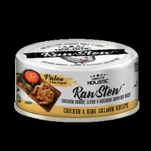 Absolute Holistic Rawstew Chicken & King Salmon Recipe 80g