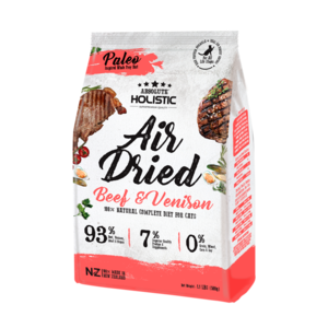 Absolute Holistic Air Dried Cat Diet Beef & Venison 500g