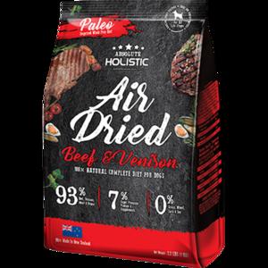 Absolute Holistic Air Dried Dog Diet Beef & Venison 1kg