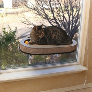 K&H Universal Mount Kitty Sill With Cardboard Track 300g