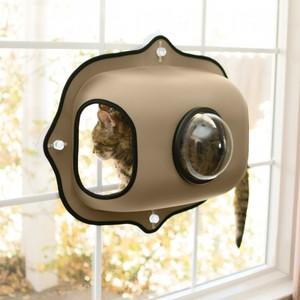 K&H Ez Mount Window Bubble Pod Tan 300g