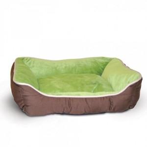 K&H Self-Warming Lounge Sleeper Small Mocha/Green 300g