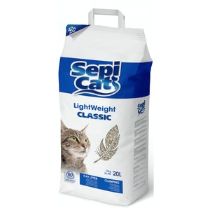 Sepicat Light Classic Non Scented For Cats With Long Fur 13.6L
