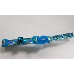 Coastal Safe Cat Super Star Adj.Break Away Collar Blue 3.8inch
