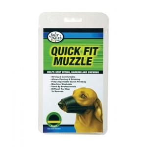 Four Paws Quick Fit Muzzle Large 200g