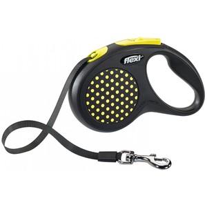 Flexi Design Medium Tape  Black/ Yellow 5m