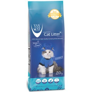 Van Cat White Clumping Compact Natural 20kg