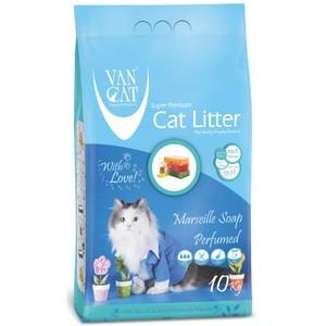 Van Cat White Clumping Bentonite Cat Litter Marsilla Soap 10kg