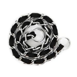 Petmate Comfort Chain Dog Collar Black 250g