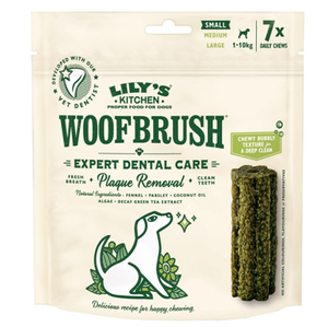 Lily'S Kitchen Small Woofbrush Dental Chew 125g
