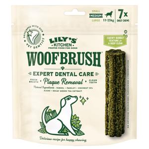 Lily'S Kitchen Medium Woofbrush Dental Chew 125g