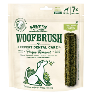 Lily'S Kitchen Large Woofbrush Dental Chew 125g