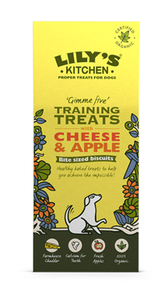Lily'S Kitchen Training Treats With Cheese & Apple 100g