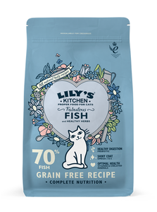 Lily'S Kitchen Fabulous Fish Complete Dry Food For Cats 2kg