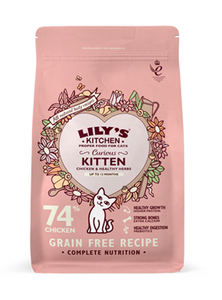 Lily'S Kitchen Curious Kitten Complete Dry Food 800g